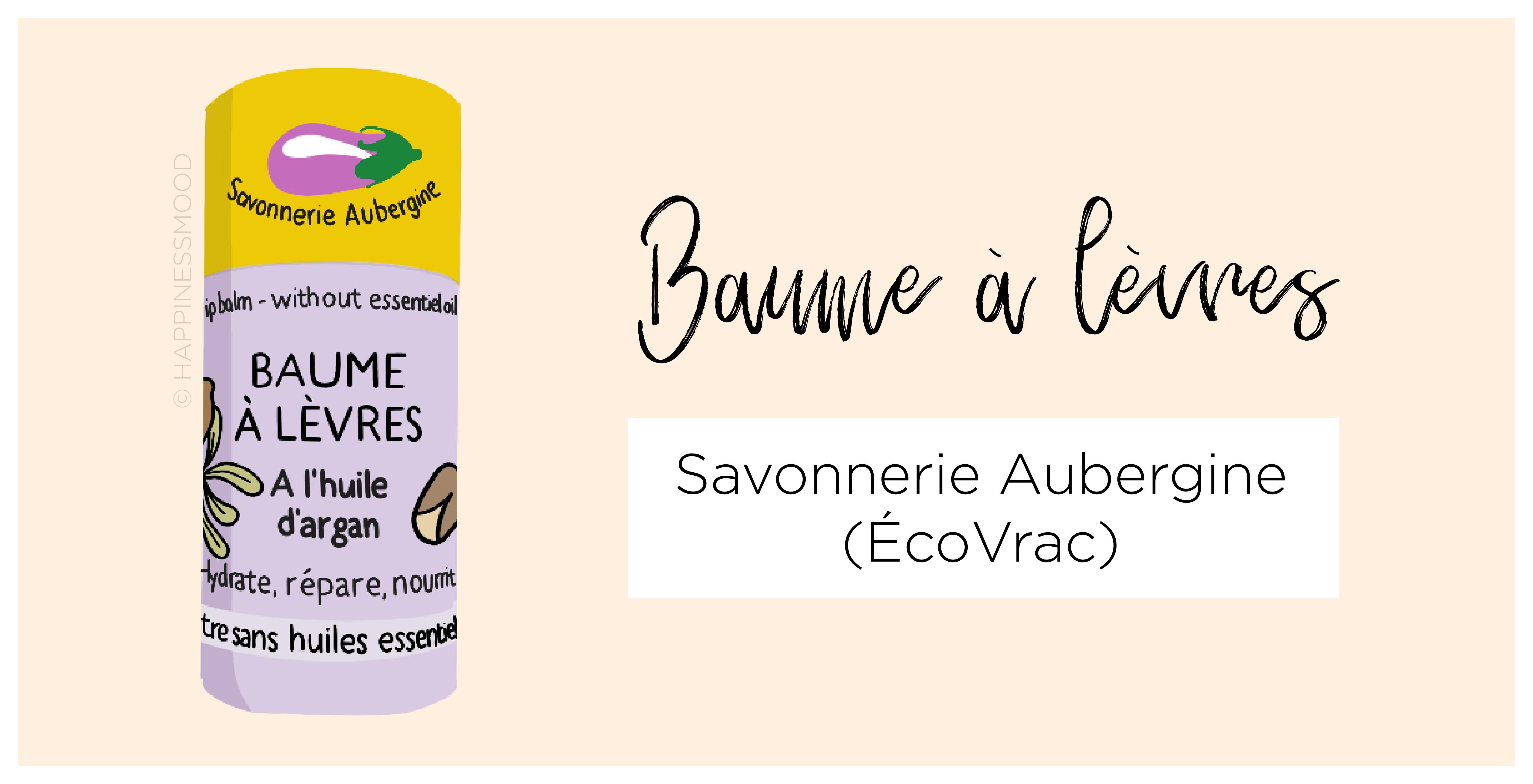 Baume a levres Savonnerie Aubergine EcoVrac Mulhouse